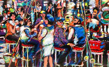 Bar At Malibu Pier 1993 Limited Edition Print - James Talmadge