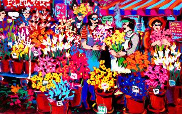 Flower Shop Limited Edition Print - James Talmadge