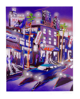 Hollywood Hotel 1993 Limited Edition Print - James Talmadge