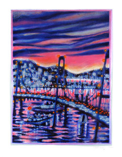 Sunset Cruise Ap 1992 Limited Edition Print - James Talmadge