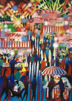 Opening Night At The Carnival AP Limited Edition Print by James Talmadge