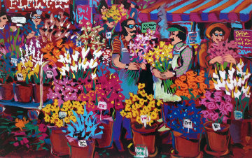 Flower Shop Limited Edition Print - James Talmadge