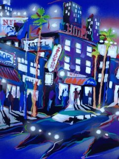 Hollywood Hotel Limited Edition Print - James Talmadge
