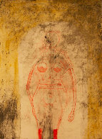 Femme En Rouge 1969  Limited Edition Print by Rufino Tamayo - 0