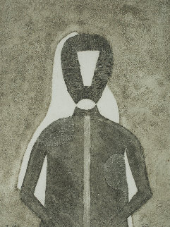 Hombre in Gris 1976 Limited Edition Print by Rufino Tamayo