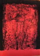 Mujer Con Brazos PP 1969  Limited Edition Print by Rufino Tamayo - 1