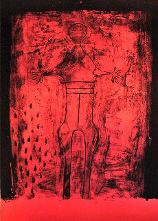 Mujer Con Brazos PP 1969  Limited Edition Print by Rufino Tamayo