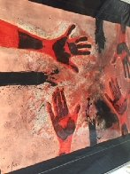 Tamayo Suite: Manos En Rojo, Plate #14   1979 Limited Edition Print by Rufino Tamayo - 1