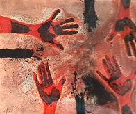 Tamayo Suite: Manos En Rojo, Plate #14   1979 Limited Edition Print by Rufino Tamayo - 0
