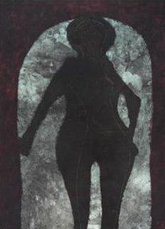 Mujer En Negro 1973 Limited Edition Print - Rufino Tamayo