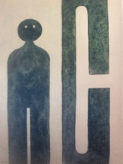 Untitled Lithograph Limited Edition Print by Rufino Tamayo