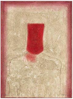 Mascara Roja (Red Mask) 1976 Limited Edition Print - Rufino Tamayo
