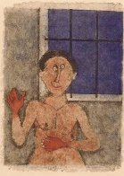 90th Anniversary Suite Rare 9 Pieces 1989 Limited Edition Print by Rufino Tamayo - 5