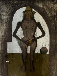 Woman Under an Arch 1969 Limited Edition Print by Rufino Tamayo