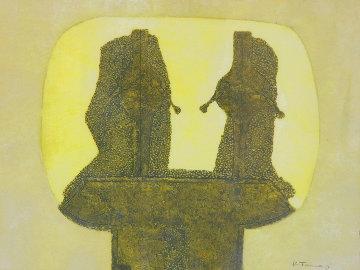 Dos Figuras 1976 Limited Edition Print - Rufino Tamayo