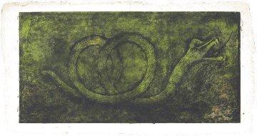 Quetzalcoatl (P. 248)  1978 Huge  27x52 Limited Edition Print - Rufino Tamayo