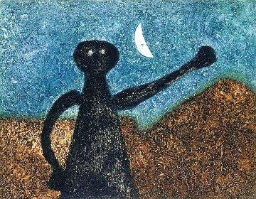 Nocturno (Nocturnal) 1975 Limited Edition Print - Rufino Tamayo