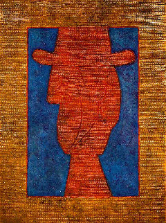 Perfile Con Sombrero / Profile With Hat 1983 Limited Edition Print by Rufino Tamayo