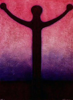 Orator, Man with Open Arms 1984 Limited Edition Print - Rufino Tamayo