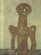 Torso (Olive Background) 1975 Limited Edition Print by Rufino Tamayo - 0