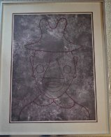 Untitled Lithograph 1960 Limited Edition Print by Rufino Tamayo - 1