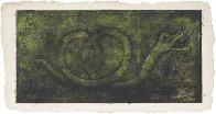 Quetzalcoatl (P. 248) 1978 mixographia 27x52 Limited Edition Print by Rufino Tamayo - 1