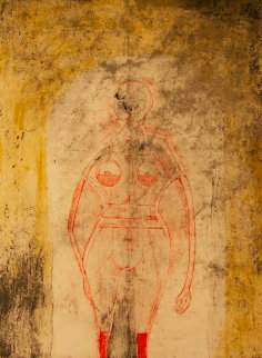 Femme En Rouge 1969  Limited Edition Print by Rufino Tamayo