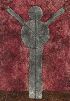Hombre II 1981 Limited Edition Print by Rufino Tamayo