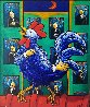 No Silent Knight 2005 39x33 Original Painting by Jacques Tange - 0