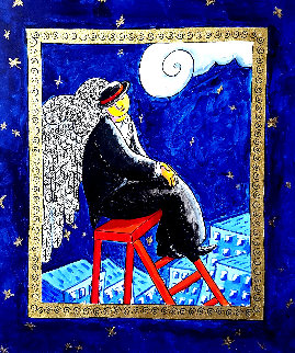 l'ange Perdue 2010 18x14 Original Painting by Jacques Tange