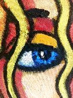 Blond 'N Blue Original 2018 35x33 Original Painting by Jacques Tange - 2