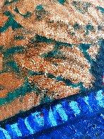 Blond 'N Blue Original 2018 35x33 Original Painting by Jacques Tange - 4
