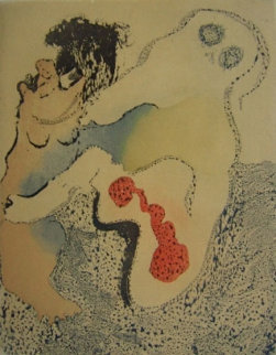 En Chair Et En or Tu 1973 Limited Edition Print - Dorothea Tanning