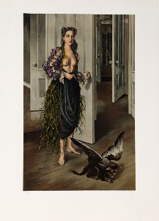 Birthday (Self Portrait At Age 30, 1942) Limited Edition Print - Dorothea Tanning