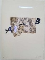 Amitie 1975 Limited Edition Print by Antoni Tapies - 2