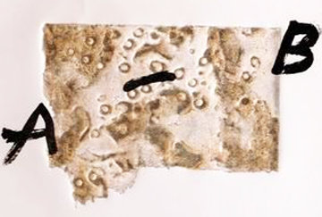 Amitie 1975 Limited Edition Print by Antoni Tapies