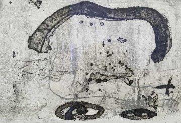 Un Vase De Terre Crue Et Le T Du Nom De Tapies 1988 Limited Edition Print - Antoni Tapies