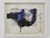 Komposition (From Un Vase De Terre) 1988 Limited Edition Print by Antoni Tapies - 2
