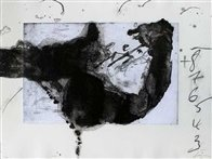 Komposition (From Un Vase De Terre) 1988 Limited Edition Print by Antoni Tapies - 0