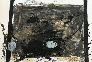 Untitled Lithograph 1970 Limited Edition Print by Antoni Tapies