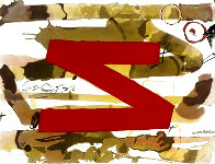 Z 1980 Limited Edition Print by Antoni Tapies - 3