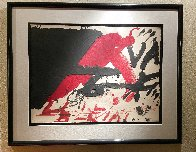 Signes Negres 1976 Limited Edition Print by Antoni Tapies - 1