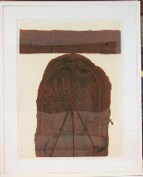 Porta Marro 1972 Limited Edition Print by Antoni Tapies - 1
