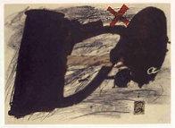 Llambrec #14 1975 Limited Edition Print by Antoni Tapies - 0