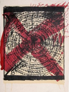 Diana 1973 Limited Edition Print - Antoni Tapies