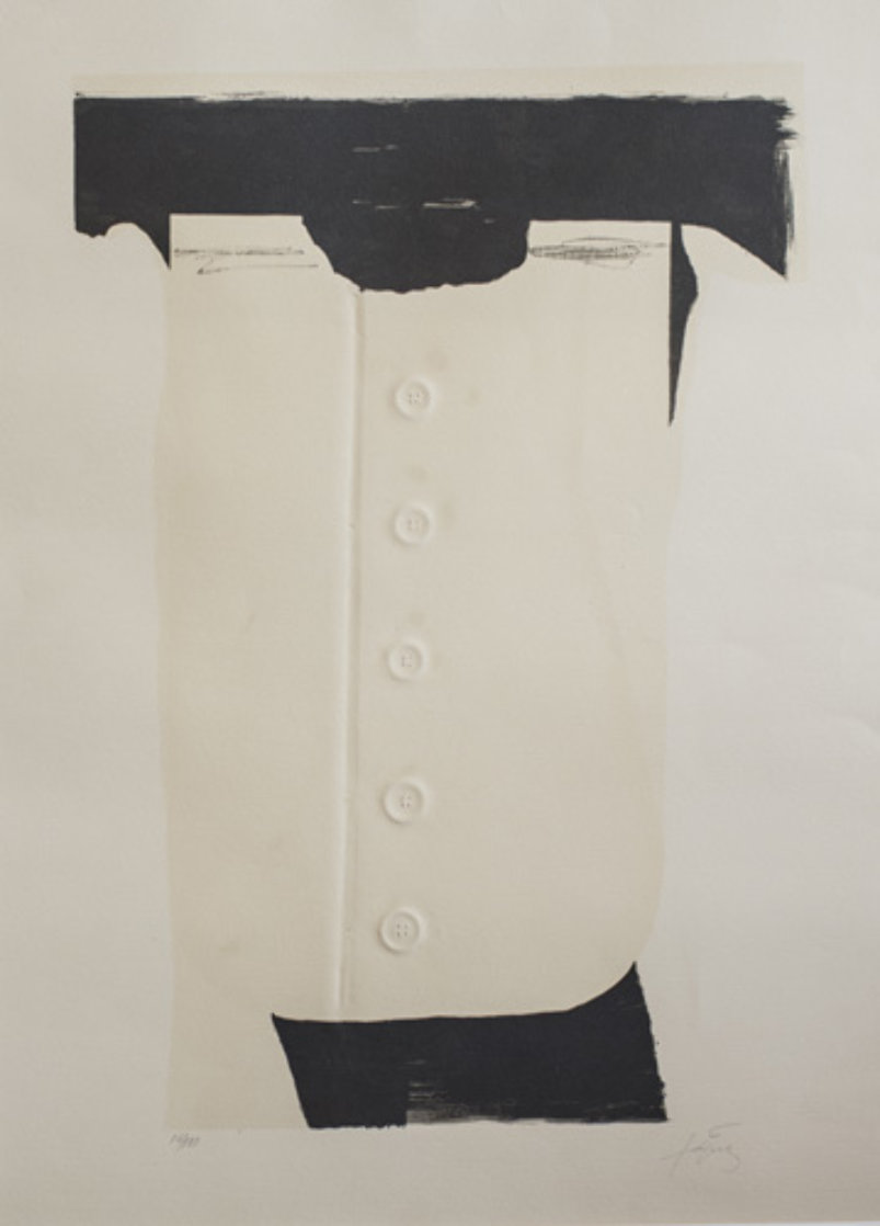 Cinc Botons (Buttons) Limited Edition Print by Antoni Tapies