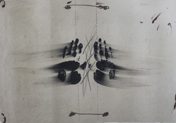 Nocturno Matinal Limited Edition Print by Antoni Tapies