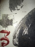 Forma Blanca 1988 Limited Edition Print by Antoni Tapies - 2