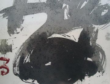 Forma Blanca 1988 Limited Edition Print - Antoni Tapies