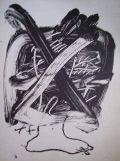 Desconocido Proof Limited Edition Print by Antoni Tapies